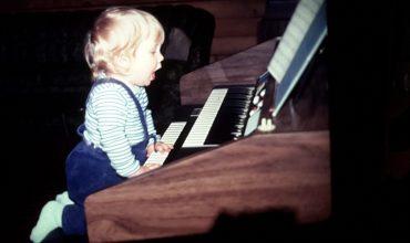 AJ at the organ